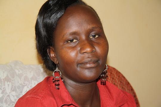 Alice Amwony; our program coordinator