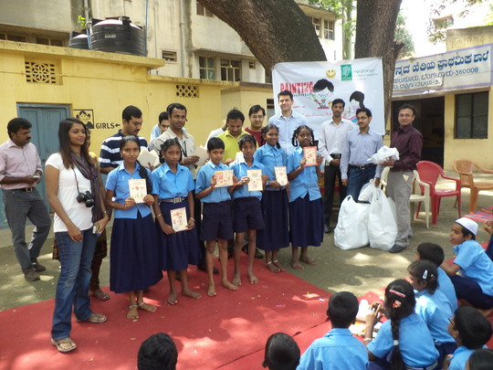 Drawing competition organised for Domlur schools