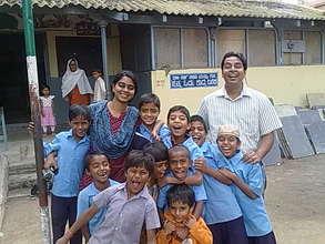 Dell volunteers at Urdu School
