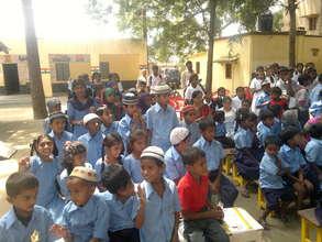 Kids of Urdu school on Aug15th