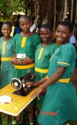 Sewing Machines at Future Victory School