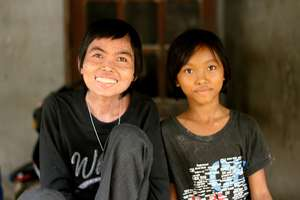 Ying and her daughter Tik