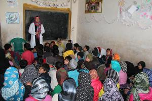 Students in an AIL Learning Center