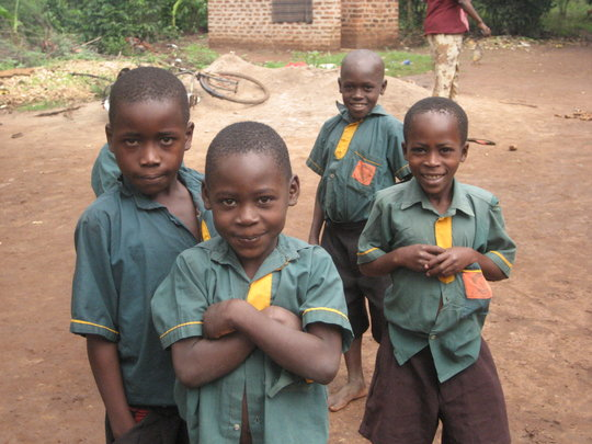 Children at Future Victory School