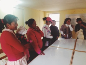 Teachers at a supplementary training two years ago