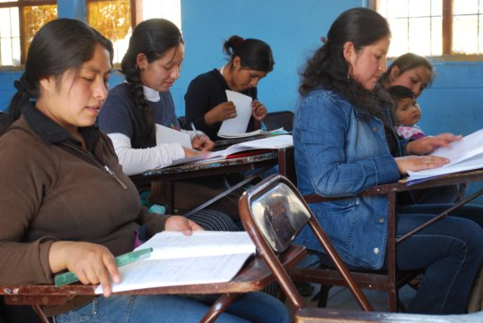 Teach to Teach: Training Women to Teach Spanish