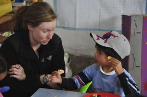 Volunteer at school
