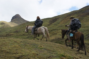 Horseback to access remote community