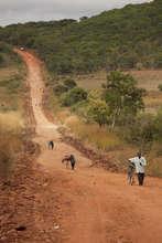 Road in Zambia