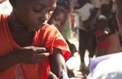 Provide immunizations for 300 infants in Zambia