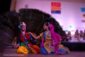 Anuradha and Mansi at the World Flute Festival