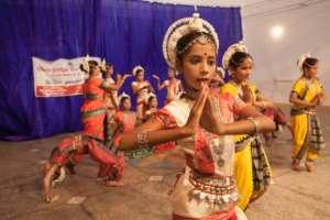 Odissi Dancers