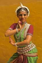 Neetu, a classical dancer