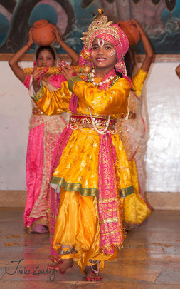 Piya During a Performance