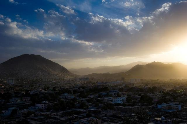 A view of Kabul, Afghanistan
