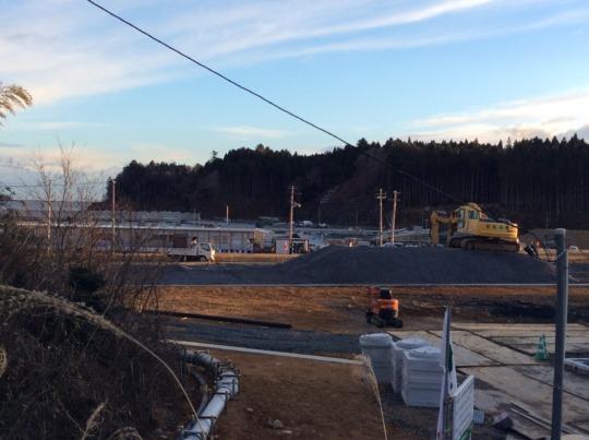 Construction Site of Isatomae Shopping Arcade 1