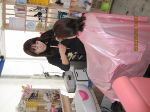 Hair salon operation