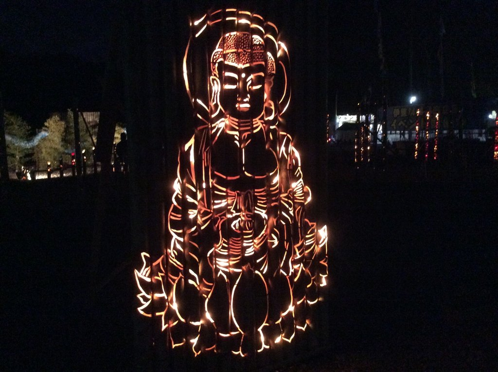 the Goddess of Mercy by Bamboo Light Up