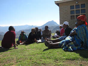 Community Health Worker training session, Lesotho