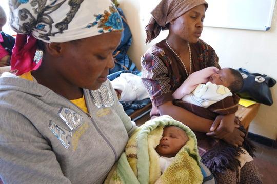 Postnatal care in Bobete