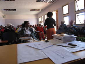 PIH Training of Community Health Workers , Lesotho