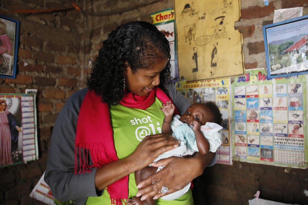 LaShaun Martin and Baby Harriett