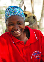 AMREF-Trained Community Health Worker in Tanzania