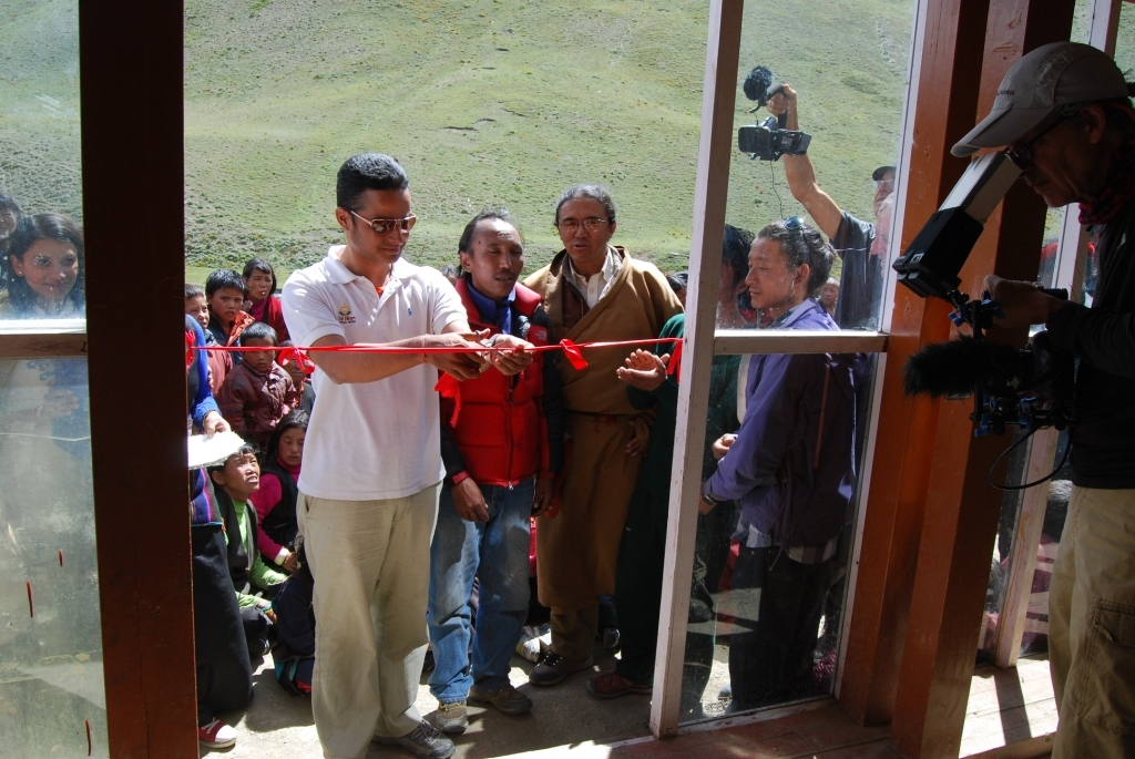 Inauguration of the Dho Tarap Birthing Center