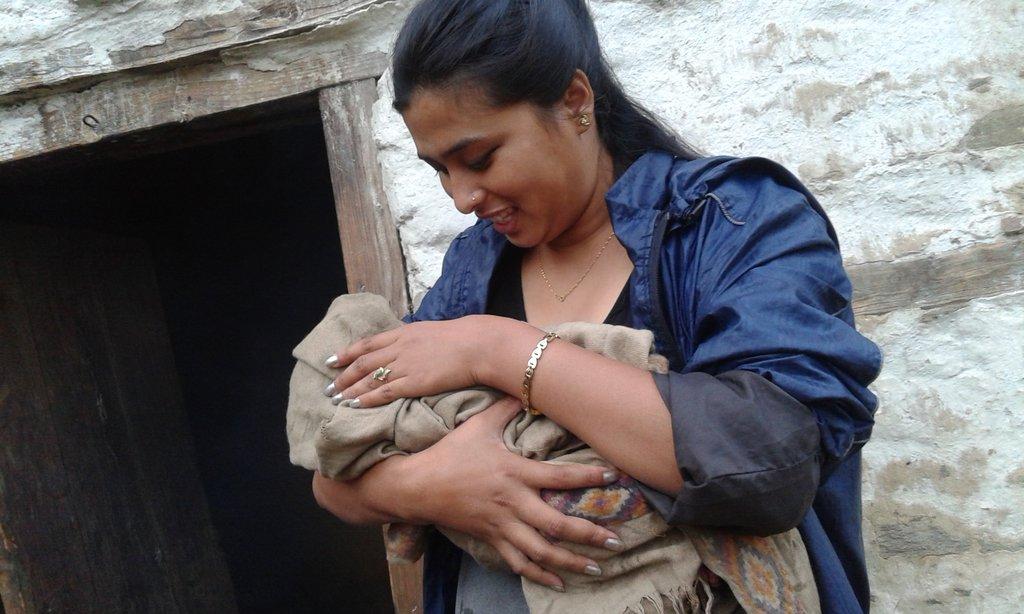 Bhagwati with Manmaya