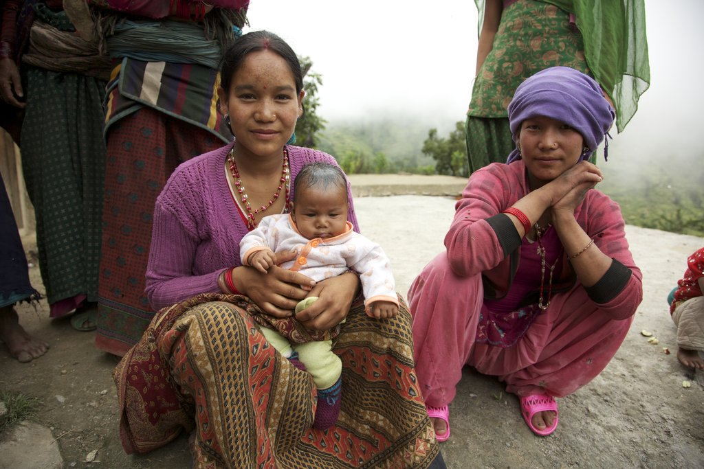 Local Dolpa mothers