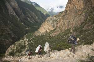 On the hike to Dolpa