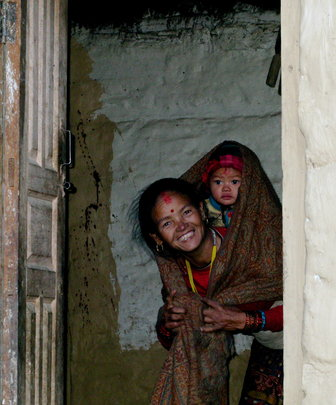 Mother and Baby in Dolpa