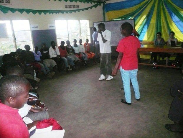 Presentation by some Club members