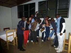 BVDA Volunteers with RVCP volunteers