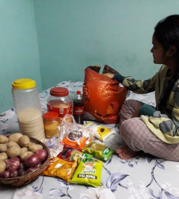 Udayan Care Emergency Fund to provide dry ration