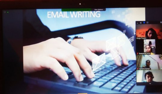 Session on Email Writing
