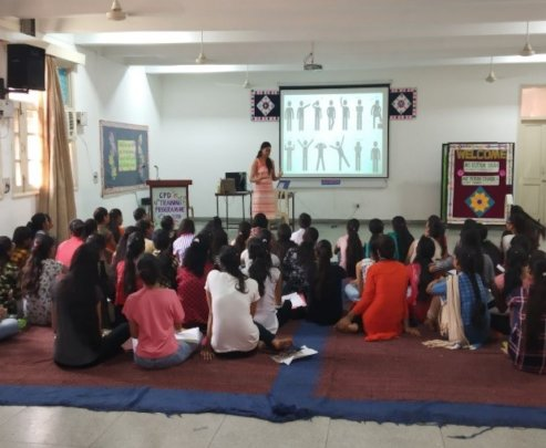 Non-Verbal Communication workshop by Sapna