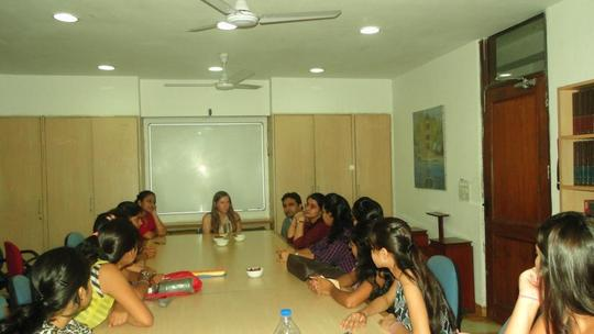 Fellows sharing their experiences with Alexis