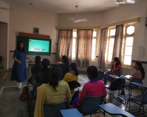 Mentor Training Session by Ms. Garima