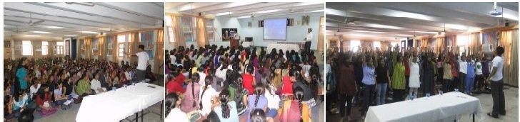 Shalini Fellows during quarterly workshop