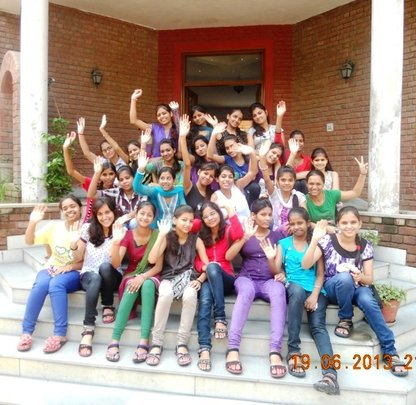 Fellows at the Residential Camp