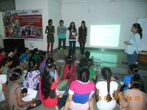 During the leadership workshop