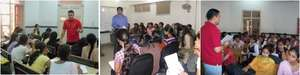 Shalini Fellows during small group workshops