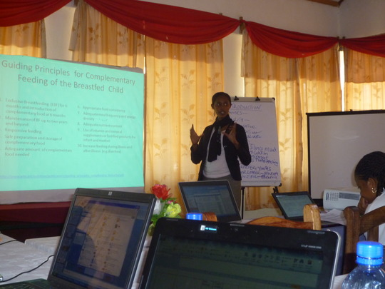 Trainings begin in the Kajiado District, Kenya
