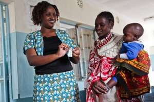 Community Health Worker and Mom