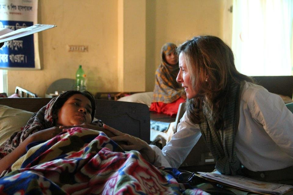 Ms. Kate Grant hears a fistula patient