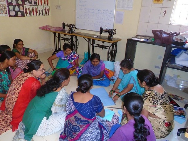 Women eager to learn new skills