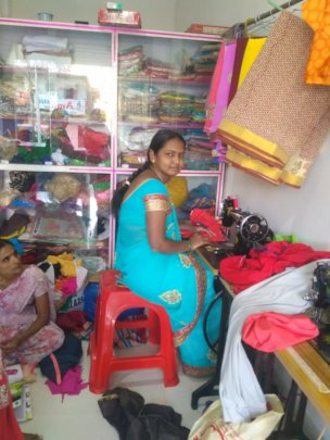 Tailoring set up by IDEA beneficiary