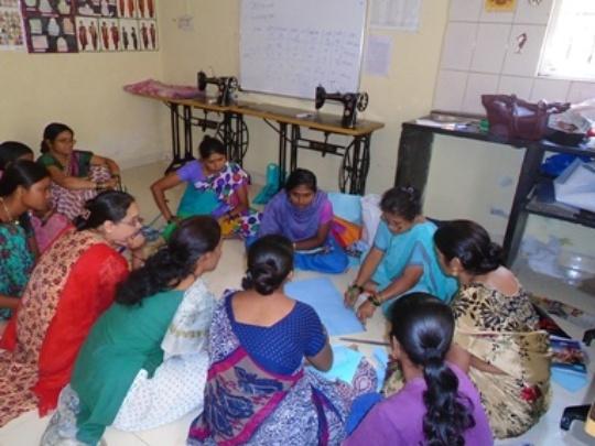 Women under training