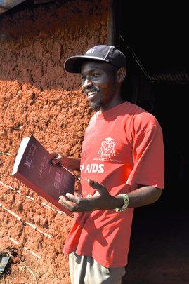 Daniel and his record book